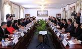 Vietnam - Laos : coopération entre les Bureaux présidentiels