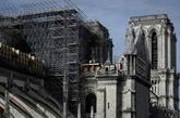 Notre-Dame : préparatifs complexes et géants pour le démontage de l'échafaudage