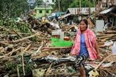 Philippines : 13 morts lors du passage du typhon Kammuri