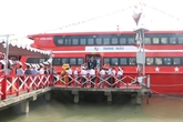 Inauguration de la ligne de navire à grande vitesse Cân Tho - Trân Dê - Côn Dao
