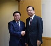 Une délégation du Parti communiste du Vietnam en visite de travail au Japon