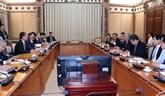 Hô Chi Minh-Ville souhaite intensifier sa coopération avec les entreprises japonaises