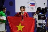 Le Vietnam obtient huit médailles d'or au 8e jour de la compétition