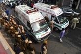 Au moins 43 morts dans l'incendie d'une usine à New Delhi