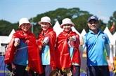 SEA Games 30 : trois médailles d'or supplémentaires pour le Vietnam