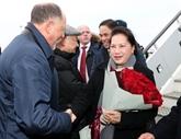 La présidente de l'AN arrive à Kazan, au Tatarstan