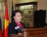 Des dirigeants biélorusses saluent la visite de la présidente de l'AN, Nguyên Thi Kim Ngân
