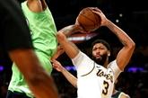 NBA : Anthony Davis écrase tout, Doncic s'élève encore plus
