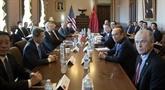 Trump salue des progrès dans les négociations commerciales avec Pékin