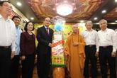 Hanoï et Hô Chi Minh-Ville adressent leurs voeux du Têt aux religieux
