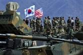 Forces américaines en République de Corée: Séoul paiera 8,2% de plus en 2019