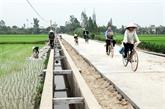 Plus de 3.300 milliards de dôngs pour la Nouvelle ruralité