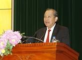 Le vice-PM Truong Hoà Binh salue l'Audit de l'État du Vietnam