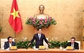Le vice-Premier ministre Vu Duc Dam rencontre des scientifiques dans cinq grands projets