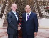 Le Premier ministre Nguyên Xuân Phuc reçoit un dirigeant du FMI