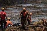 Rupture de barrage minier au Brésil: le bilan s'alourdit à 166 morts