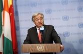 Le chef de l'ONU salue le règlement du différend entre la Grèce et la Macédoine