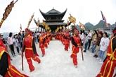Ouverture de la fête de la pagode Tam Chuc à Hà Nam