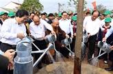 Le Premier ministre assiste à une fête de plantation d'arbres