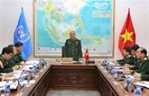Maintien de la paix: le Vietnam prépare le déploiement d'une équipe du génie