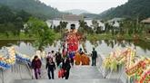 Quang Ninh: un nombre record de touristes à l'occasion du Nouvel An lunaire