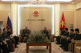 Vietnam et Russie renforcent la coopération entre leurs armées