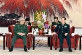 Un vice-ministre de la Défense en visite en Chine
