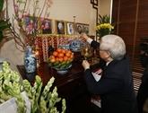 Hommage aux feus secrétaires généraux du PCV, Lê Duân et Truong Chinh