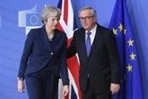 Theresa May tente de convaicre Bruxelles sur l'accord de divorce