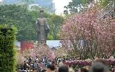 La fête des fleurs de cerisier japoinaise prévue fin mars à Hanoi