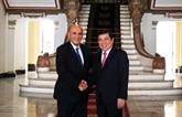 L'ancien vice-PM israélien accueilli à Hô Chi Minh-Ville