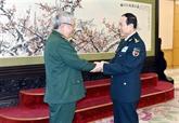Défense: le Vietnam et la Chine renforcent leur coopération