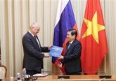 Anti-corruption: Hô Chi Minh-Ville et la Russie partagent des expériences