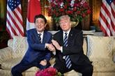 Abe et Trump échangent des opinions avant le Sommet États-Unis - RPDC