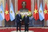 Communiqué conjoint Vietnam - Argentine