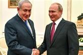 Benyamin Netanyahou rencontrera Vladimir Poutine à Moscou le 27 février