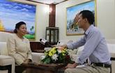Les relations spéciales Laos - Vietnam se développent continuellement