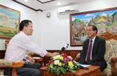 La visite au Laos du secrétaire général et président vietnamien constitue le fondement pour la coopération d'investissement