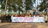 Des femmes cambodgiennes effectuent une visite d'amitié au Vietnam