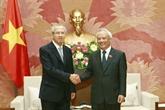Le vice-président de l'AN, Uông Chu Luu, reçoit le président de la Cour suprême thaïlandaise