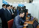 Ouverture du Centre international de presse du Vietnam pour le 2eSommet États-Unis - RPDC