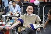 Don du sang: la Fête du printemps rouge 2019 à Hanoï