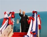 Nguyên Phu Trong quitte Hanoï pour le Laos et le Cambodge