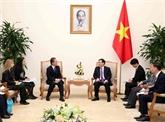 Le vice-Premier ministre Vuong Dinh Huê reçoit le président de l'AFS