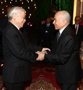 Le dirigeant Nguyên Phu Trong entame sa visite d'État au Cambodge