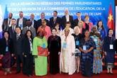 Ouverture des réunions de l'Assemblée parlementaire de la Francophonie