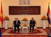 Une journée chargée de visites du chef d'État vietnamien au Cambodge