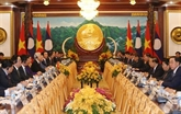 La presse laotienne salue les résultats de la visite du dirigeant vietnamien