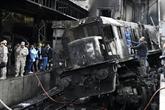 Égypte: 20 morts dans l'accident d'un train en pleine gare du Caire