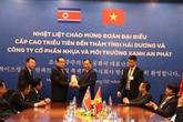 Une délégation du Parti des travailleurs de Corée visite la province de Hai Duong